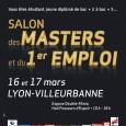 LeSalon des Masters et du 1er emploiaura lieu les16 et 17 mars 2012de 10 h 00 à 18 h 00 à Lyon – Villeurbanne – Espace Double-Mixte – Hall Passeurs […]