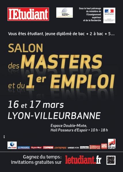 salon des masters 16 et 17 mars 2012 lyon