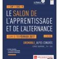 La 6ème édition du Salon de l'Apprentissage et de l'Alternance de Grenoble aura lieu le Samedi 11 février 2017 de 9 h 00 à 18 h 00 à Alpes Congrès […]